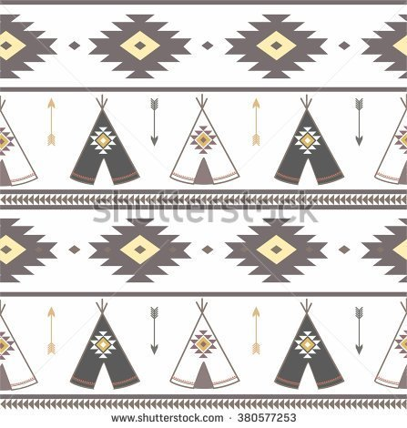 American indian black teepee silhouette clipart.