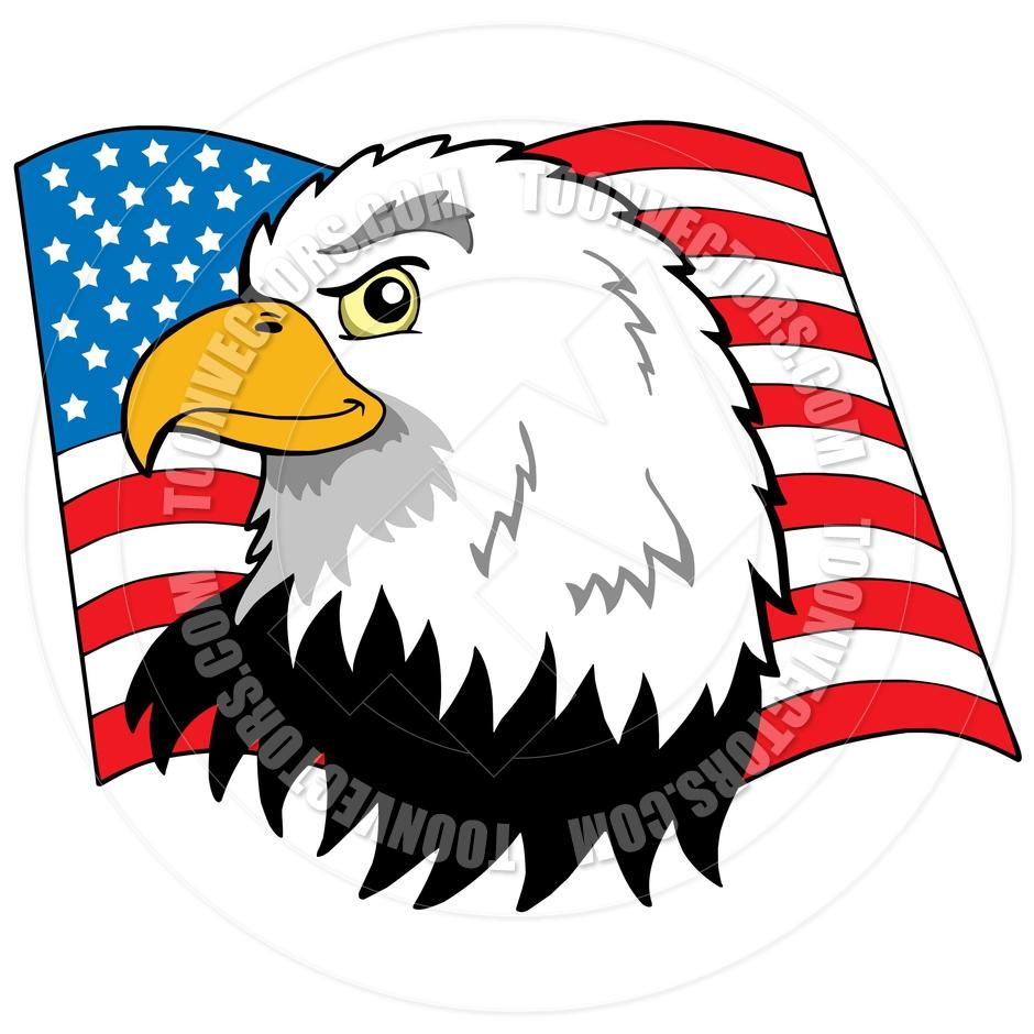 1296 Bald Eagle free clipart.