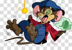 American Tail Fievel Goes West transparent background PNG.
