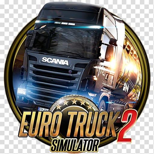 Euro Truck 2 simulator logo, Euro Truck Simulator 2.