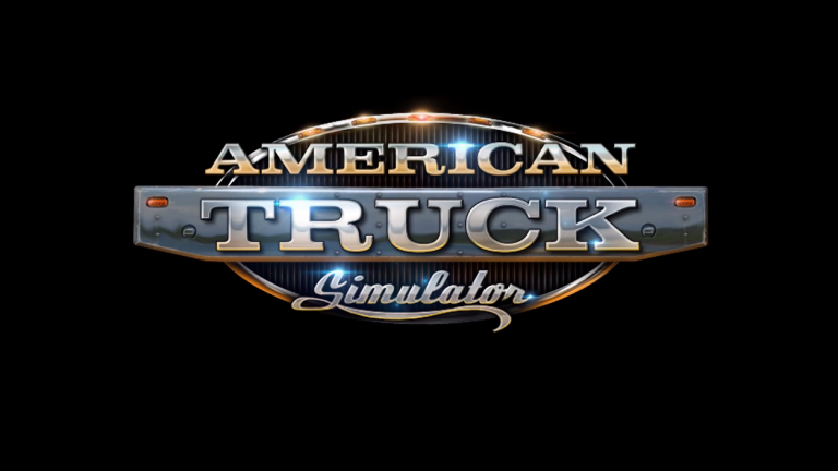 American Truck Simulator logo.