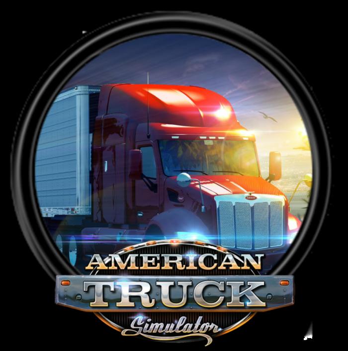 American Truck Simulator Logo Png Vector, Clipart, PSD.