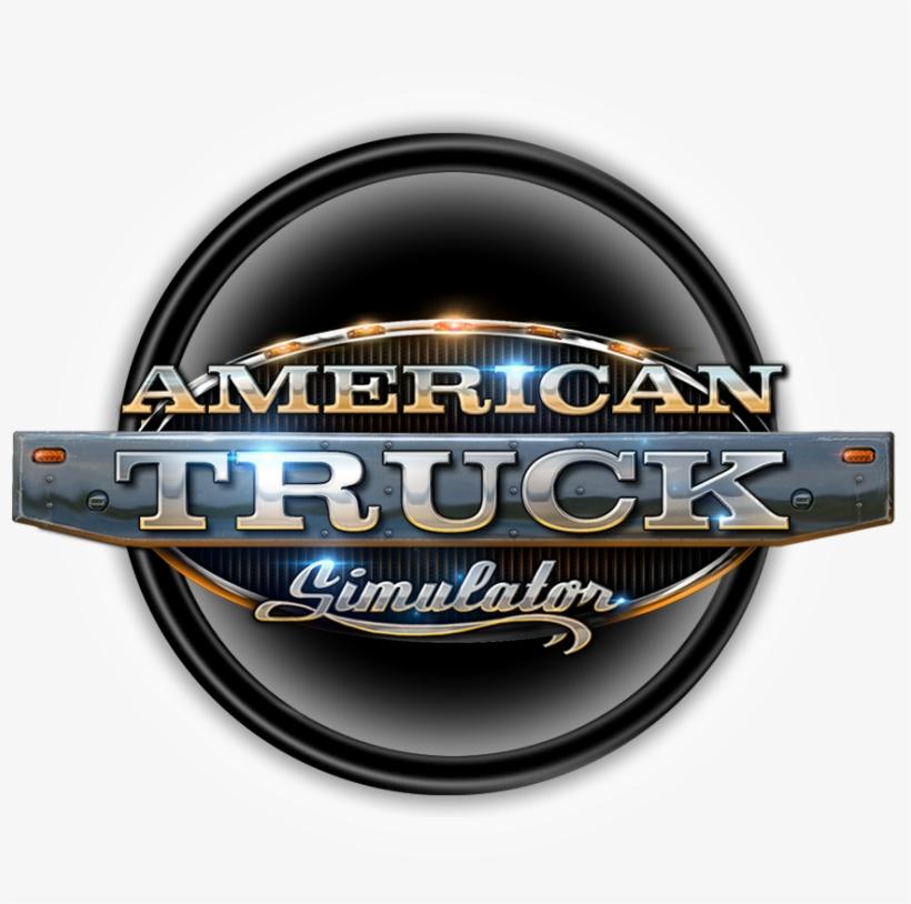 American Truck Simulator Logo Png.