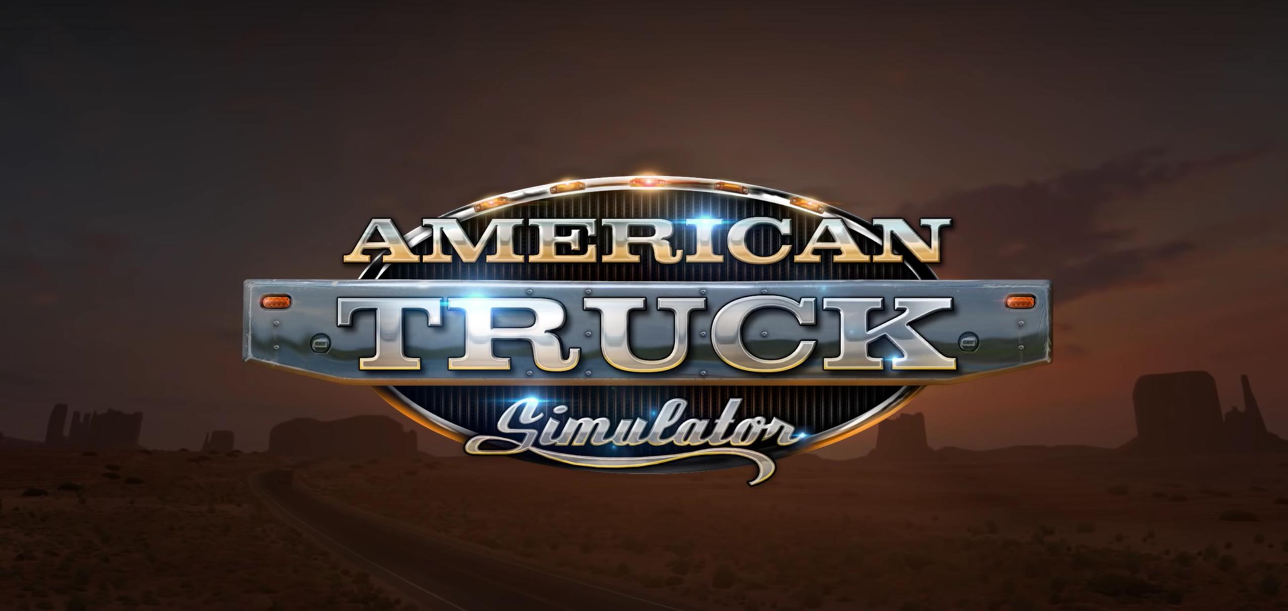 American Truck Simulator Demo.