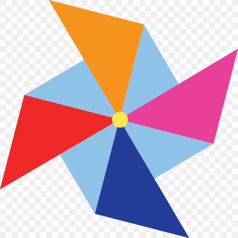 Paper Pinwheel Windmill Clip Art, PNG, 1000x1001px, Paper.