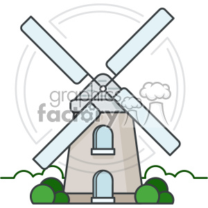 Windmill vector clip art images clipart. Royalty.