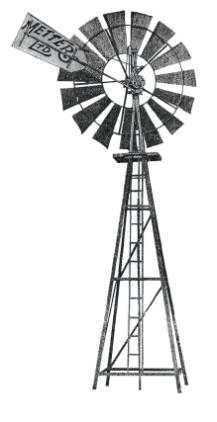 Australian Windmill Clipart.
