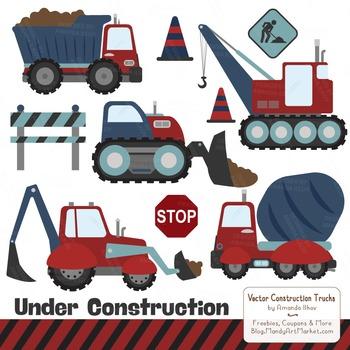 Americana Construction Clipart & Vectors.