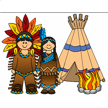 Art Thanksgiving, Native Americans, Indians.