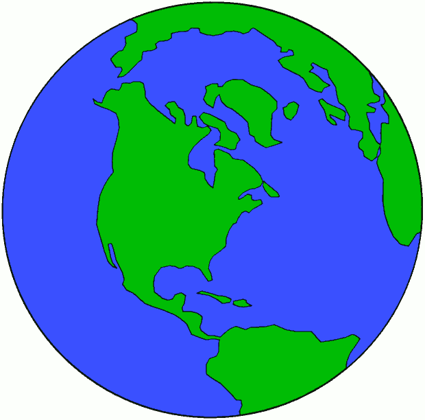 Globe Of Earth Clipart.