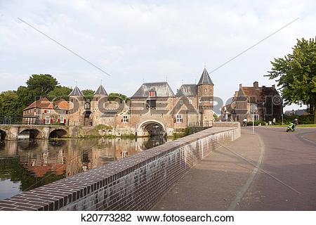 Stock Photo of de koppelpoort in Amersfoort k20773282.