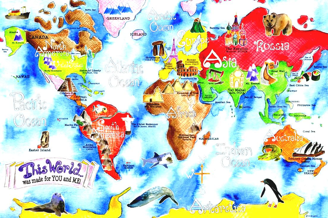 World Map Clip Art Amesbury Public Library.