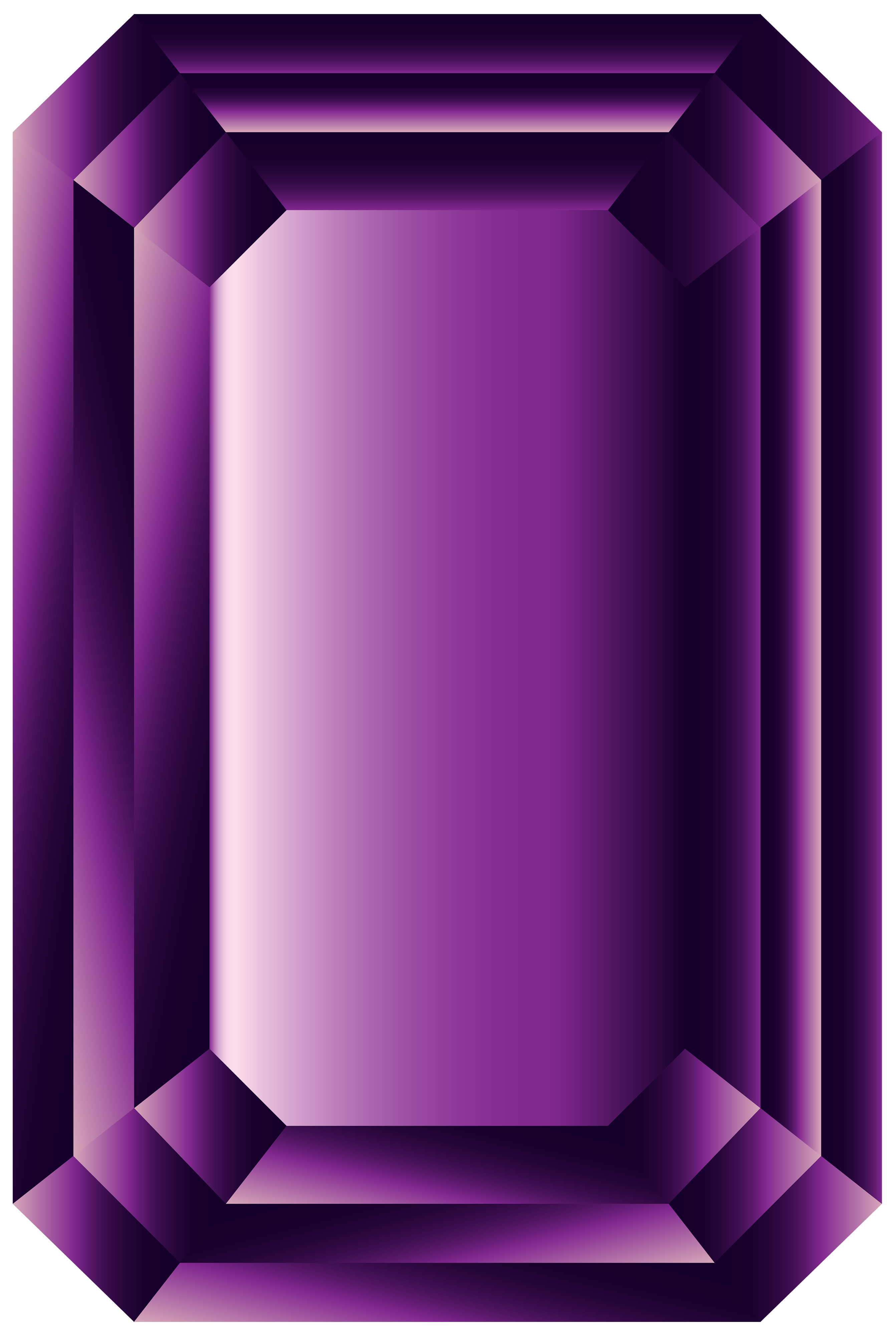 Amethyst PNG Clipart Image.