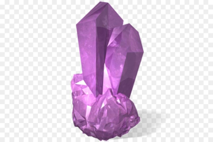 amethyst crystal transparenmt clipart Amethyst Crystal Clip.