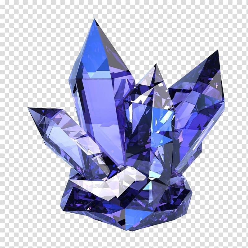 Purple crystal illustration, The Crystal Bible: A Definitive.
