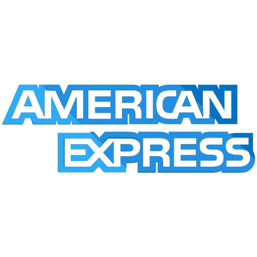 American, express, finance, payment icon.