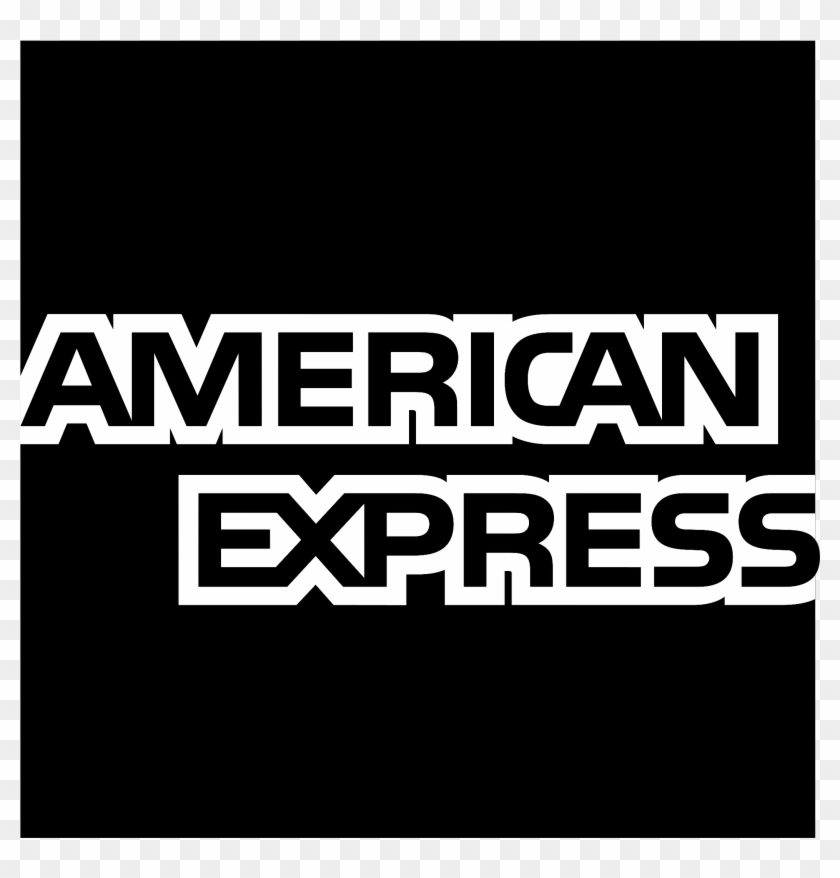 American Express Logo Black And White.