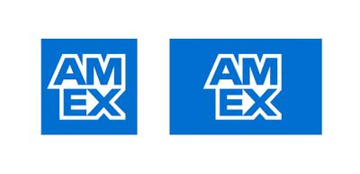 New AMEX Branding.