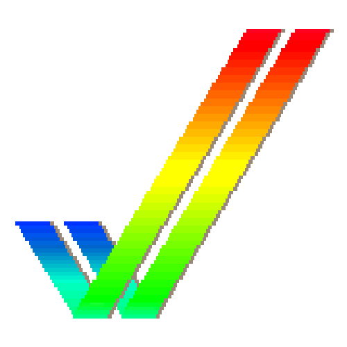 "Amiga ""Checkmark"" Logo from Workbench 2 & 3 Wallpaper."