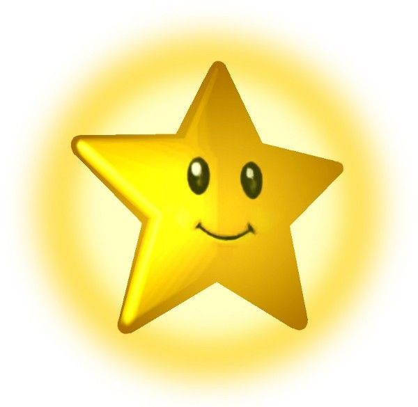 Animated Shining Star Clipart.