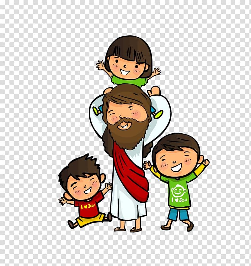 Jesus Christ illustration, Bible Child Nativity of Jesus.