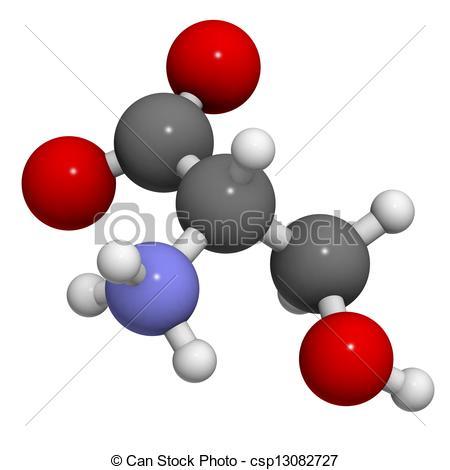 Amino acids clipart.