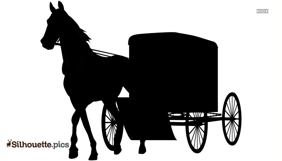 Amish Buggy Vector Clipart Image Free Download @ Silhouette.pics.