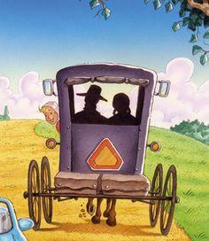 Amish Communities Clip Art.