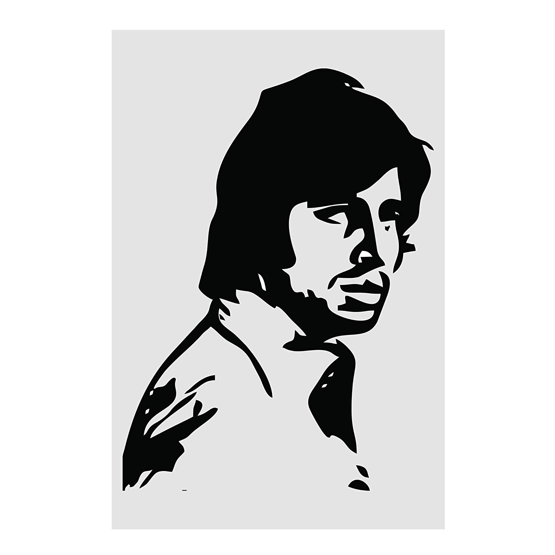 Amitabh Bachchan Super Hero Poster Form KARTMEN GI044 13 x 19, 300 GSM.