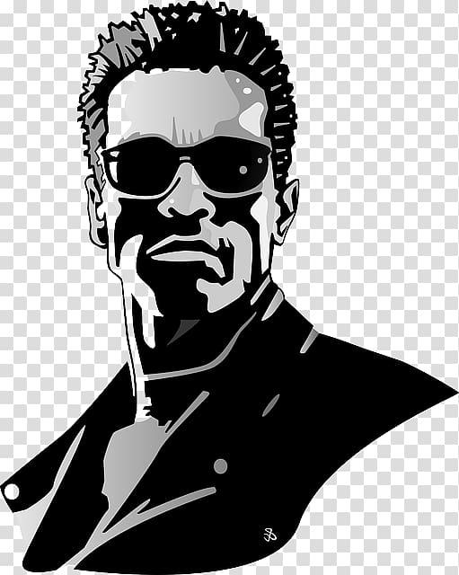 Arnold Schwarzenegger The Terminator Art, amitabh bachchan.