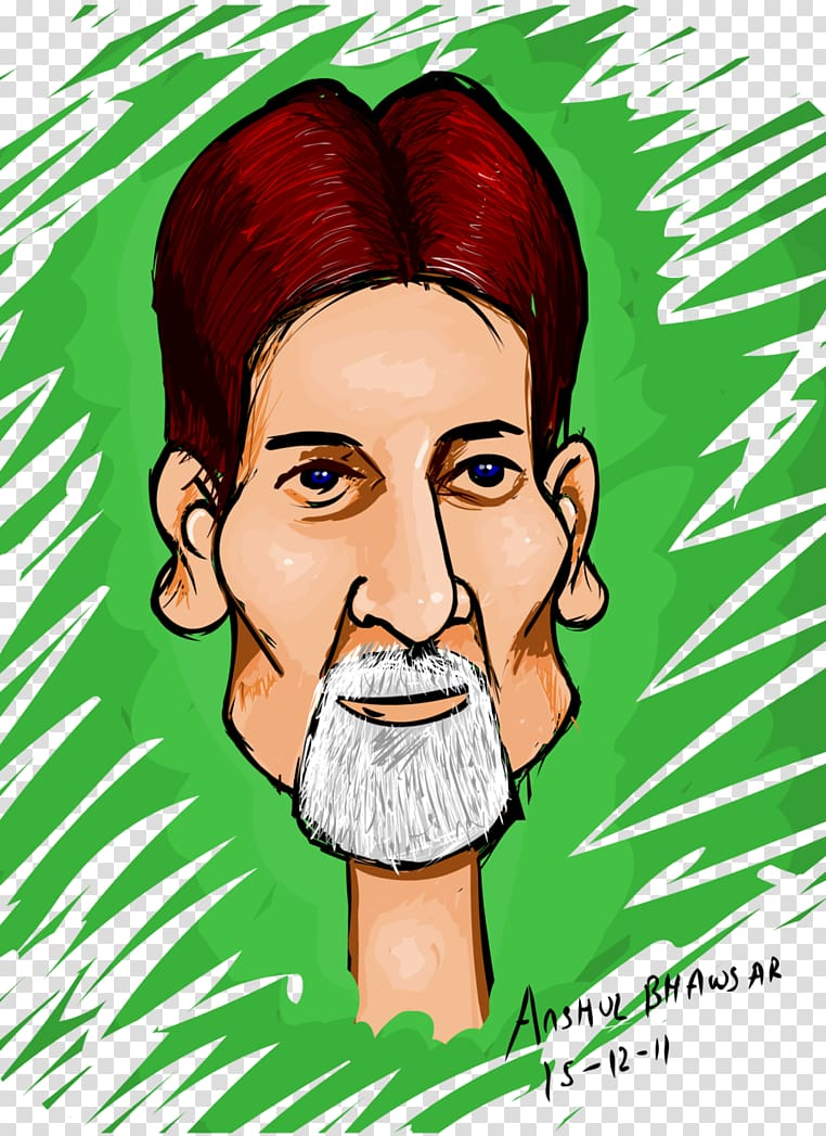Amitabh Bachchan Cartoon Face Caricature, amitabh bachchan.