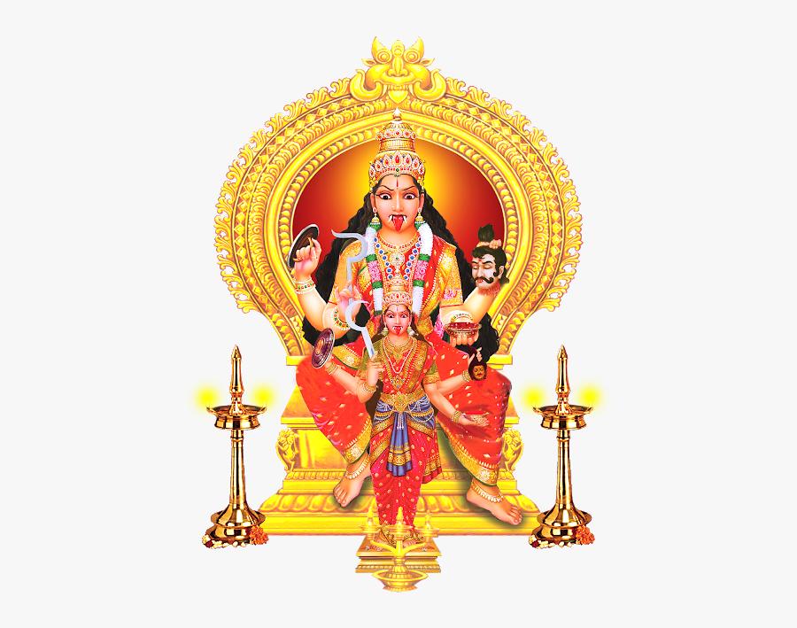 Durga Drawing Navadurga.