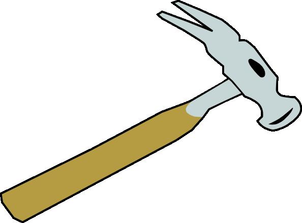 Hammer clip art Free Vector / 4Vector.