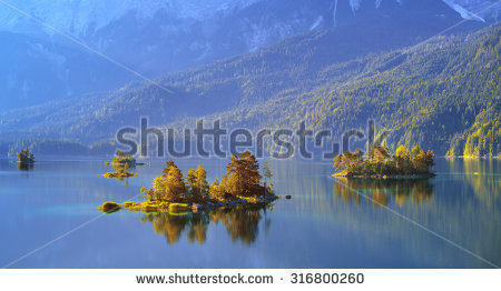 Eibsee lake Stock Photos, Images, & Pictures.