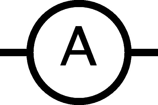 Symbol For Ammeter.