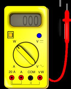Ammeter Clipart.