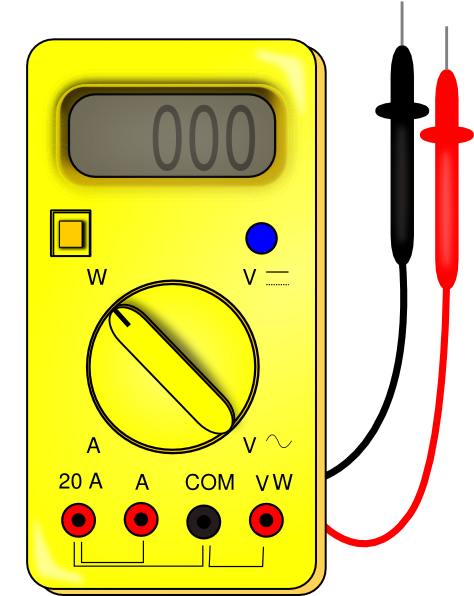 Multimeter Clip Art at Clker.com.