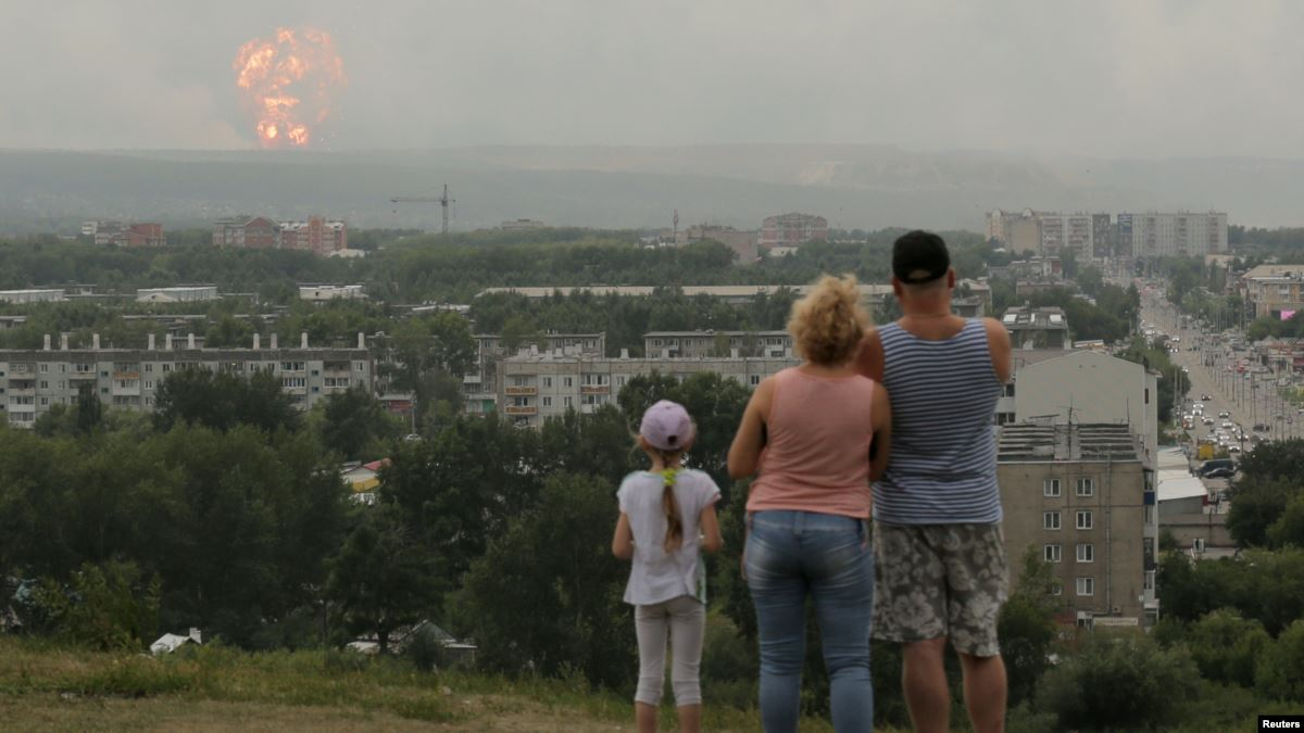 New Blasts At Site Of Siberian Ammo Depot Tragedy Injure At.