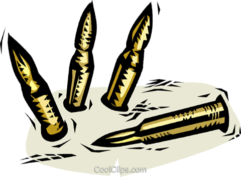 bullets Royalty Free Vector Clip Art illustration.