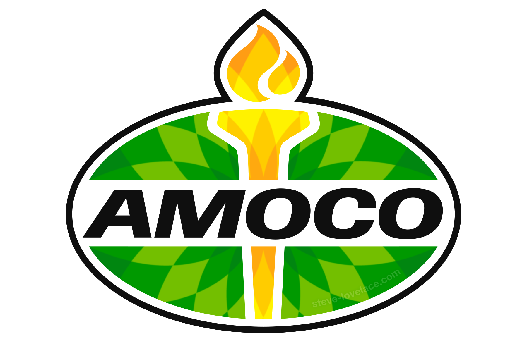 Defunct Designs: The Amoco Logo — Steve Lovelace.