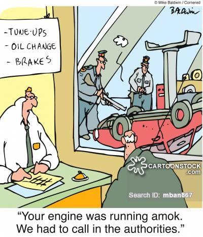 Running Amok Cartoons and Comics.