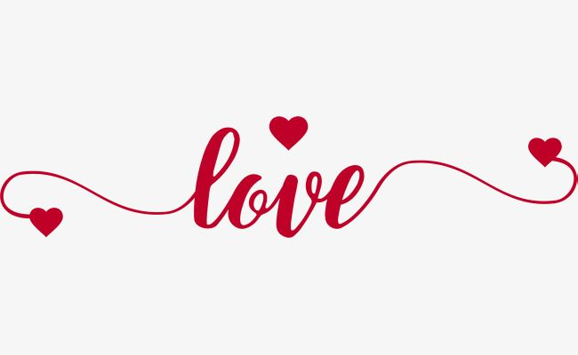 Love Split, Wavy, Curve PNG and Vector with Transparent Background.