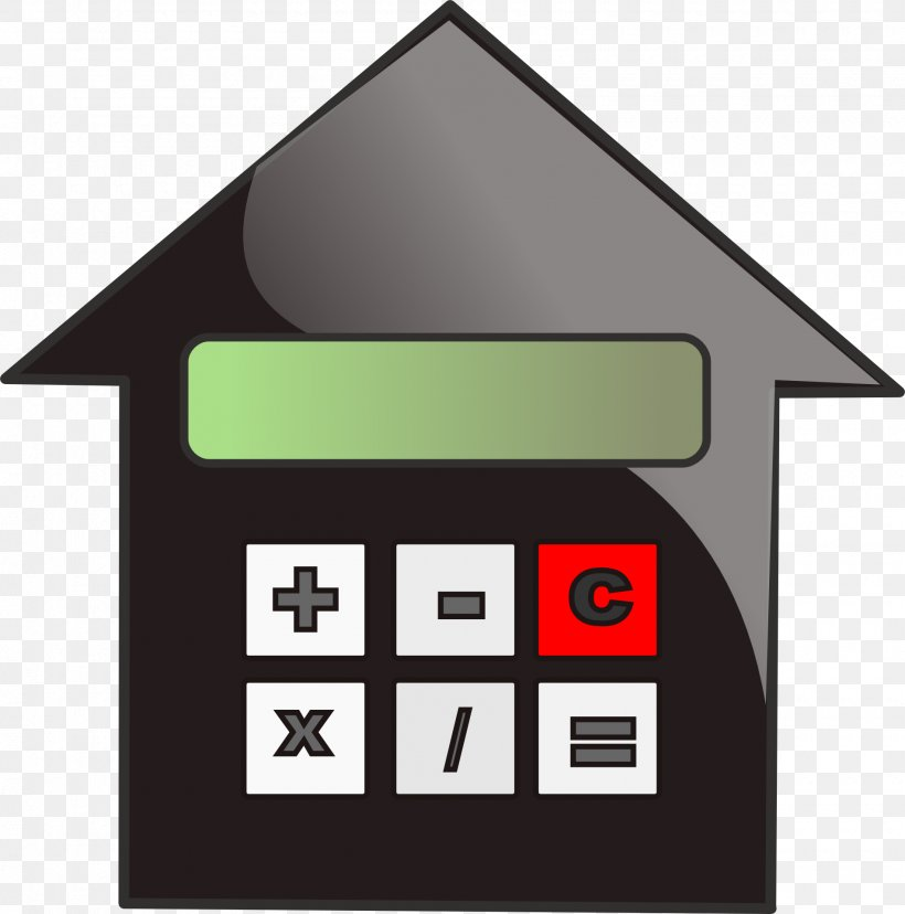 Mortgage Calculator Refinancing Mortgage Loan Clip Art, PNG.
