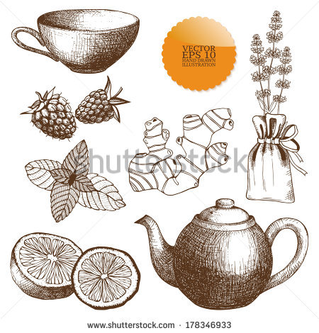 Herb Time Stock Vectors & Vector Clip Art.