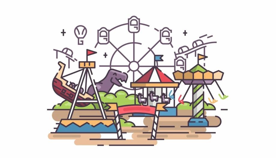 Amusement Park Png Photo Amusement Park Clipart Png.