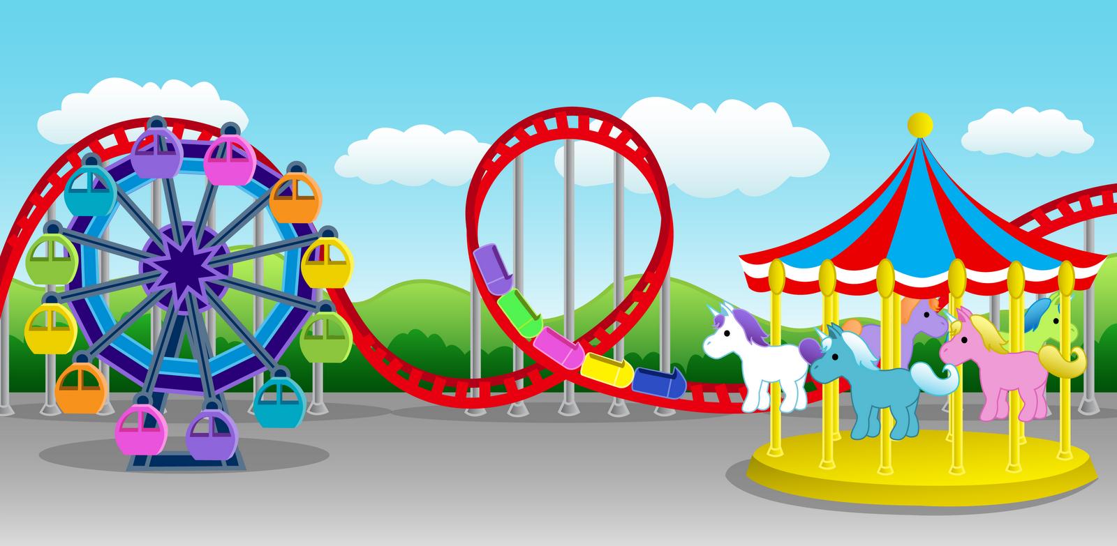 707 Amusement Park free clipart.