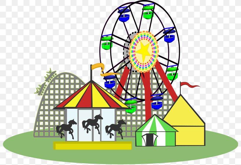 Amusement Park Amusement Ride Clip Art, PNG, 800x563px.