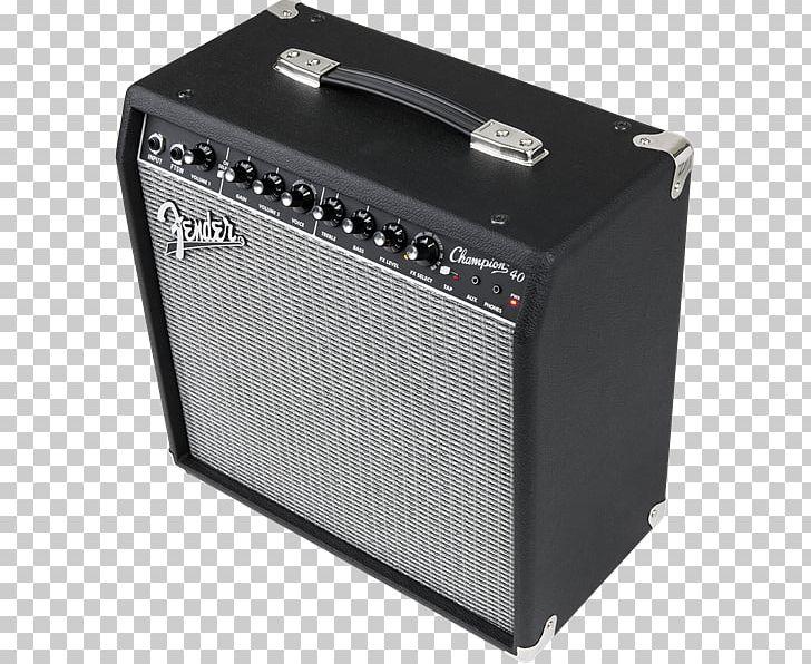 Guitar Amplifier Fender Champion 40 Bass Guitar Electric.