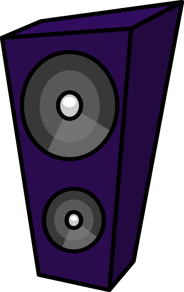 Amp and Speaker Clip Art.
