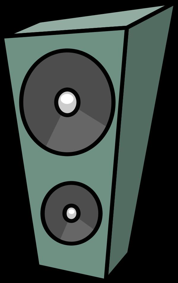 Amp and Speaker Clip Art.